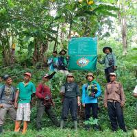 Gandeng BKSDA Bawean, UKM Mapala STAIHA Bawean adakan Reboisasi Pemulihan Hutan Bawean